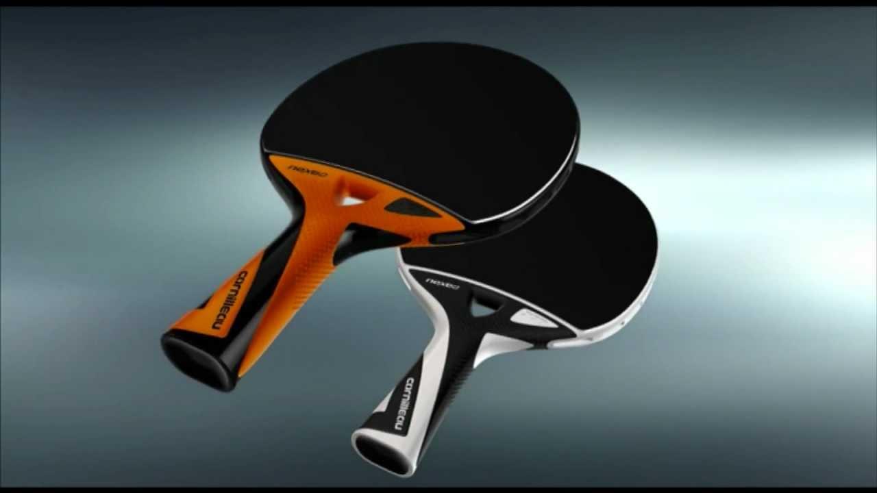 nouvelle raquette composite de ping pong nexeo youtube