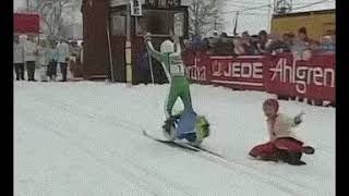 Skier Epic Fail (ukrainian champion)