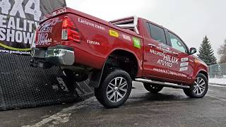 Toyota Hilux extreme test drive
