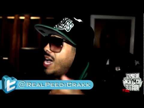 Peedi Crakk Freestyle [In Studio]