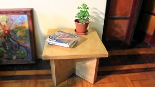 MESA FORTE DE PAPELÃO – STRONG TABLE OF CARDBOARD