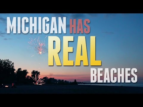Michigan Has Real Beaches
