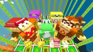 Minecraft Wii U - NEW Super Mario Adventures - NEW STATUES [4]