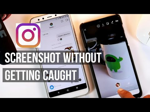 How To Take Screenshots Of  Disappearing Photos Instagram Direct