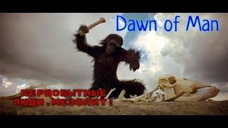 СТРИМ #2!Dawn of Man.ПЕРВОБЫТНЫЕ ЛЮДИ.МЕЗОЛИТ!