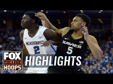 Xavier vs Creighton | HIGHLIGHTS | FOX COLLEGE HOOPS