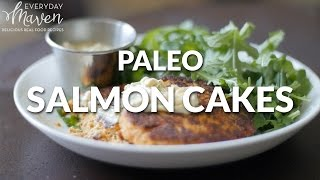 Paleo Weeknight Salmon Cakes Recipe