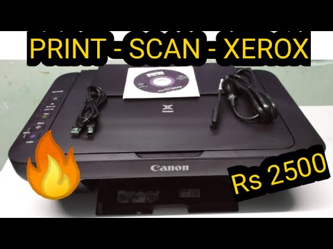 CANON PIXMA MG2570S | Unboxing +Review+Set-up/installation | Techtoys