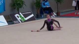 Marine Leloup massues 15 International Rhythmic Cup Mol