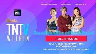 TNTV Within with Kim Nemenzo & Arabelle Dela Cruz, Jermaine Apil