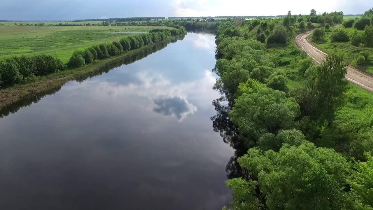 Спас-Клепики. Рязанская область. Аэросъемка - YouTube
