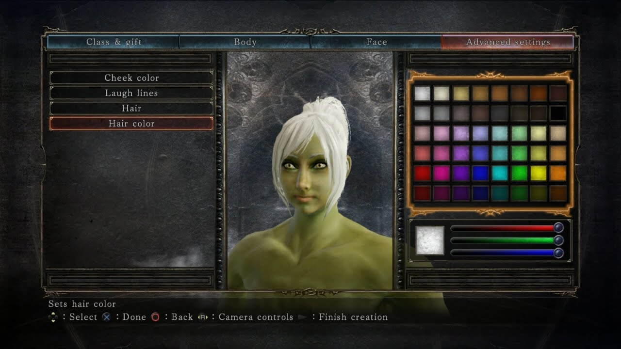 Making a Hulk of a Women In Dark Souls 2 Character Creation - YouTube