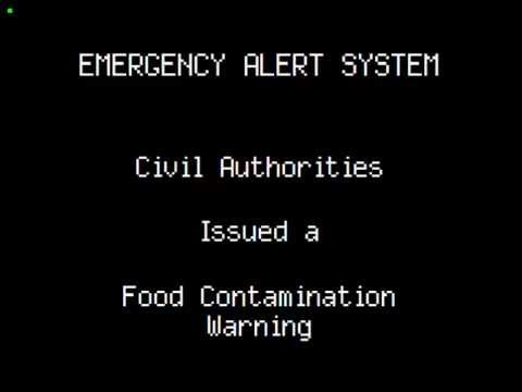 Food Contamination Warning EAS