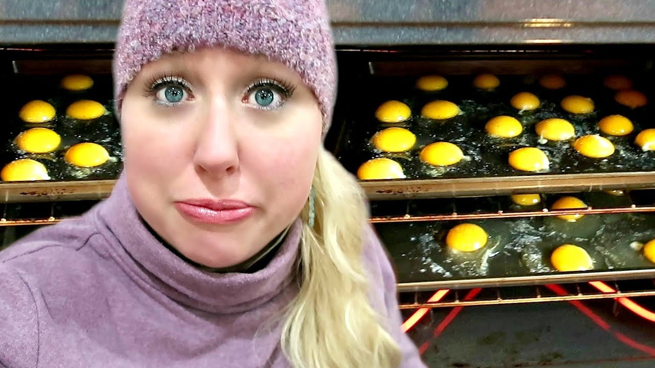 🍳Vacation Cooking Large Family Baked Eggs in the Oven (+ one more stop!)
