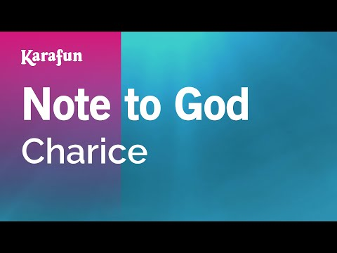 Karaoke Note to God - Charice *
