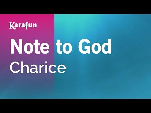 Karaoke Note to God - Charice *
