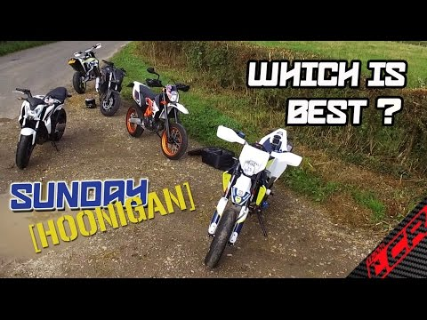 Which would you prefer -  Husky 701, KTM 690 or a CR500?