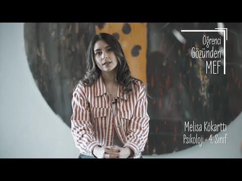 Öğrenci Gözünden MEF Üniversitesi / Melisa Kökarttı - Psikoloji