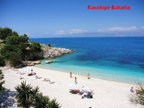 Corfu Greece Krf Grcka All Beaches Sve Plaze Hd Youtube