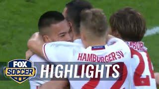 Video Gol Pertandingan Hamburger SV vs Borussia Monchengladbach