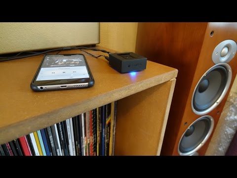 Add Bluetooth to an old amp with the Logitech Bluetooth Adaptor