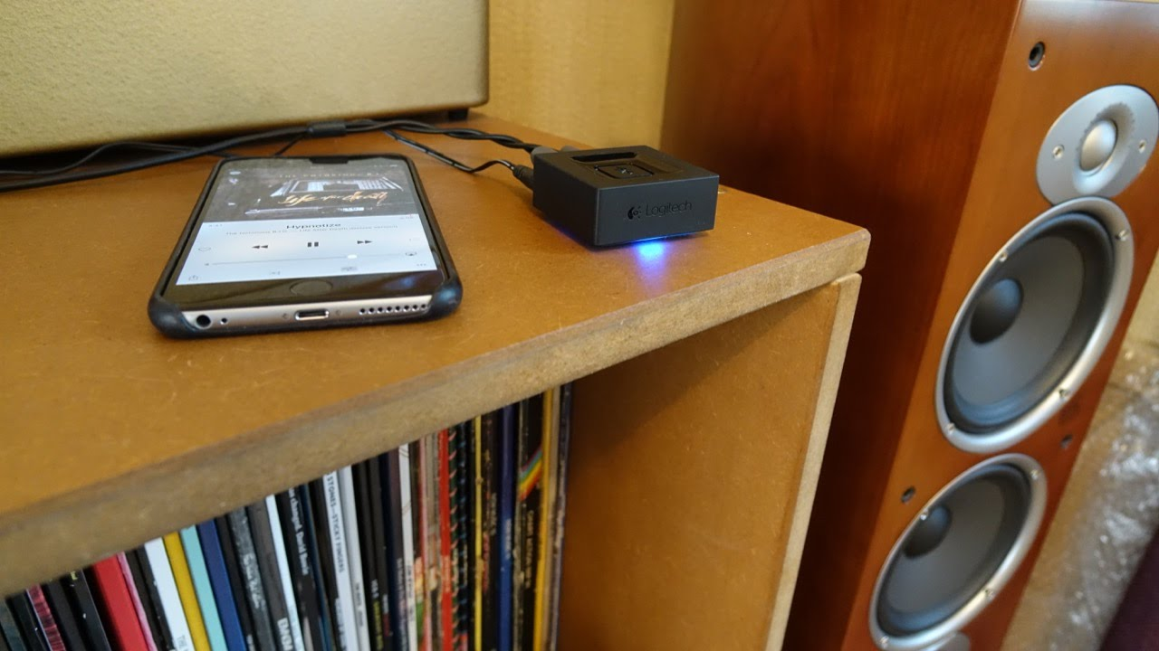 Add Bluetooth To An Old Amp With The Logitech Adaptor Stereo Amplifier Everything Is Duplicated Possible