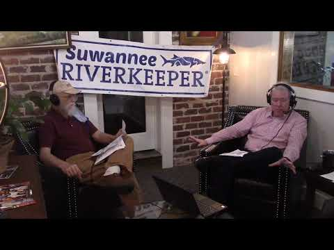 Testing, Eco-Tourism, Troupville River Camp --Suwannee Riverkeeper on Scott James radio 2020-10-13