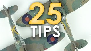 25 Tips for Scale Modellers