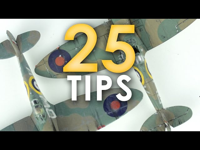 Plastic Model Aircraft Buying & Building [30 TIPS] | Scale