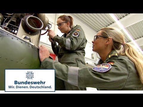 Ausbildung der ersten Avionikerinnen für die P-3C Orion – Bundeswehr