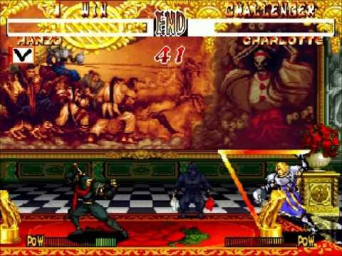 Fightcade - Samurai Shodown 2 - Carlos.Santiago(MEX) Vs Rockman77(USA)