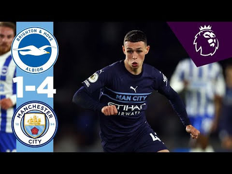 Brighton Manchester City Goals And Highlights
