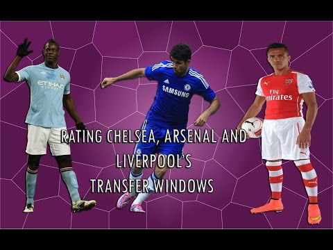 Costa, Sanchez, Balotelli and more - Rating Chelsea, Arsenal and Liverpool's Transfer Windows
