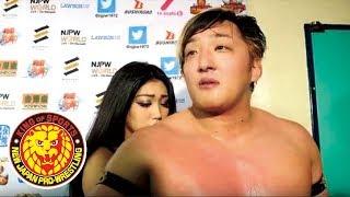 G1 CLIMAX 28 Night19 (August 12) - Post-match Interview [3rd match]
