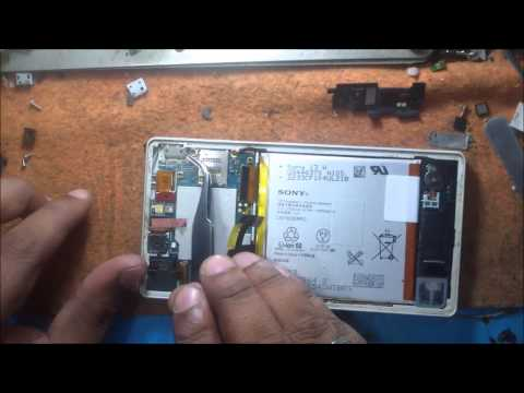 Sony Xperia Z Motherboard Disassemble