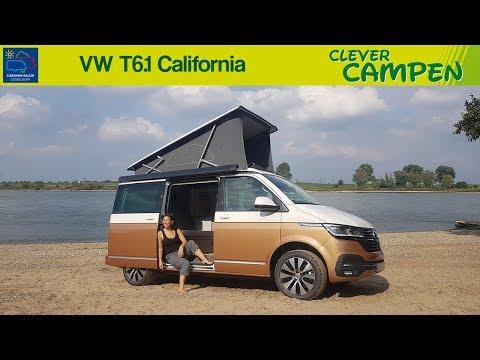 Der neue VW T6.1 California (2020): Was kann die Neuauflage des Campers? - Review | Clever Campen