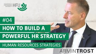 #04 How to build a powerful Human Resources Strategy