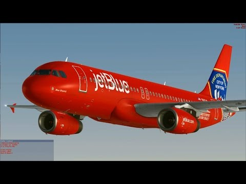 "[FSX] jetBlue A320 ""Blue Bravest"""