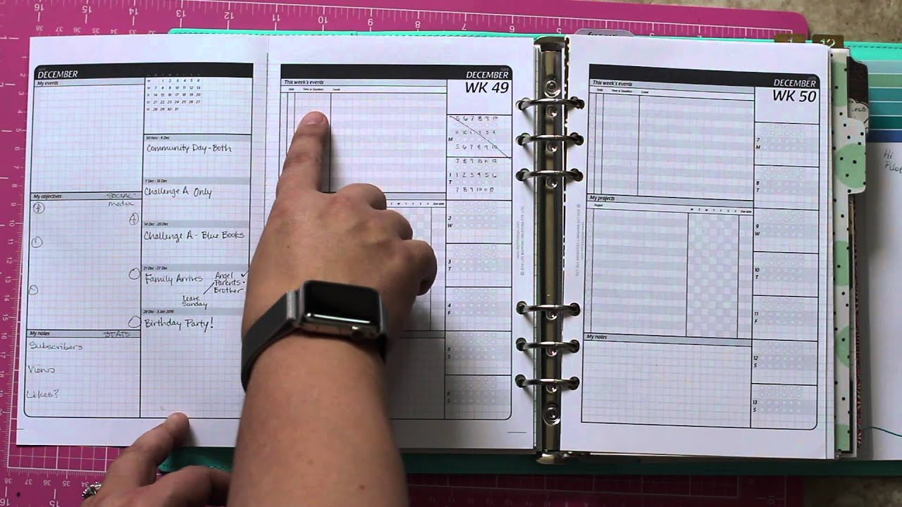 diyfish project planning pages youtube