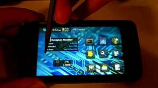 A very quick demonstration of the Nokia N900 (multitasking)