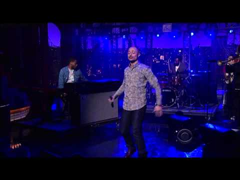Late Show With David Letterman - Jose James Performs