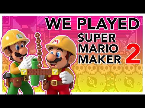 Super Mario Maker 2: We Played It