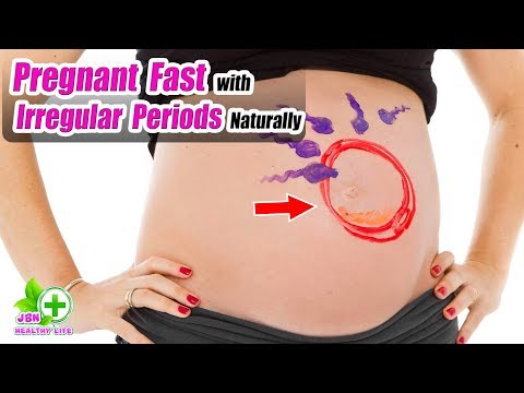 Get Pregnant Fast with Irregular Periods Naturally? You Will Be Surprised To Know These Things
