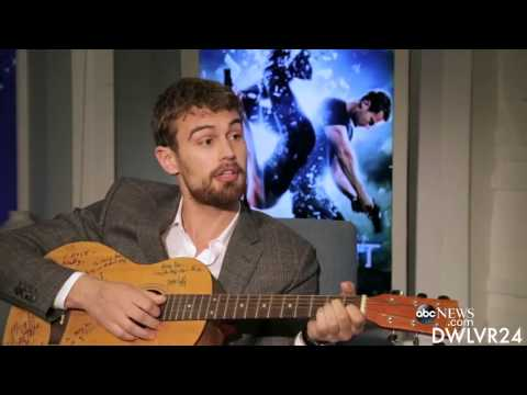Theo James  Funny & Sexy Moments Insurgent Part 1