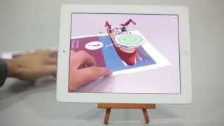 Harkand Augmented Reality app