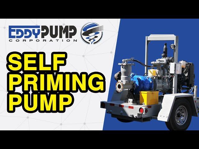 Self-Priming Mobile Slurry Pump - Diesel Driven Trailer High Solids System