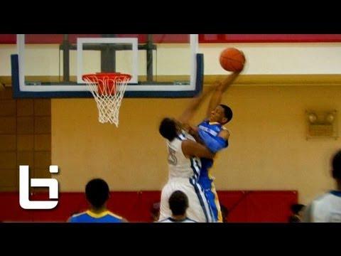 Troy Williams Ultimate High School Mixtape: Incoming Indiana Hoosier is an Athletic Beast!