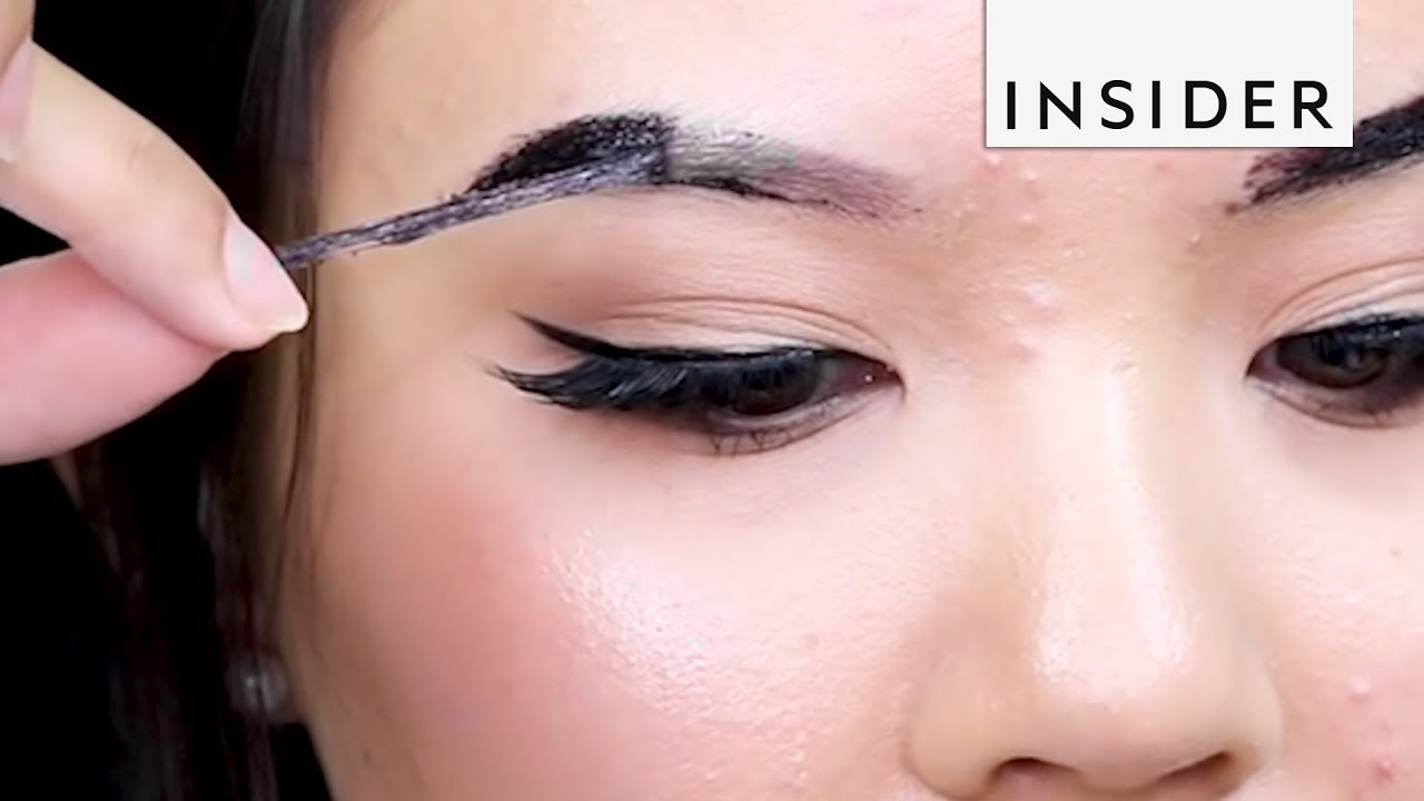 Peel Off Brow Tint Youtube