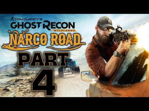 "Ghost Recon: Wildlands - Narco Road DLC  - Let's Play - Part 4 - ""El Invisible (Ending)"""