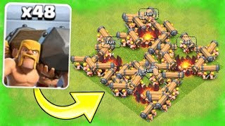 new troop battle ram is here clash of clans official new troop game play